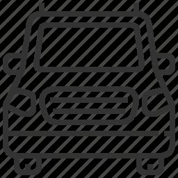automobile, car, delivery, minivan, traffic, transportation, vehicle icon