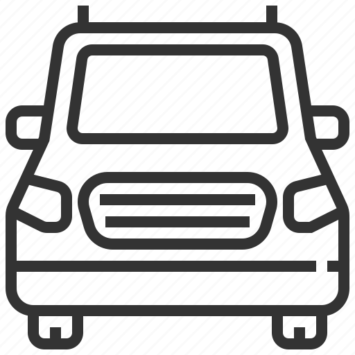 automobile, car, delivery, minivan, traffic, transportation, vehicle icon