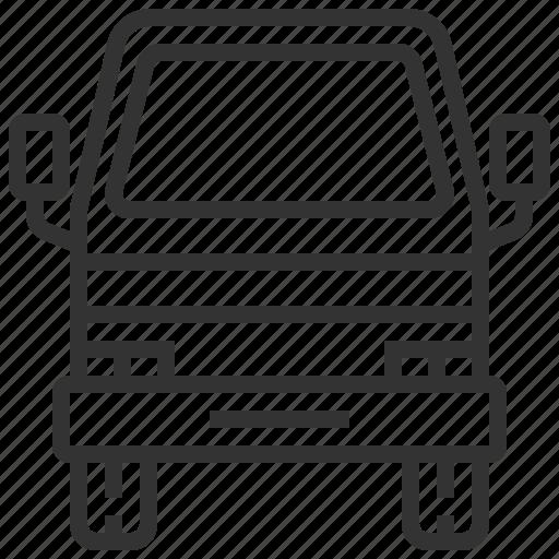 automobile, car, delivery, mini, traffic, transportation, truck icon
