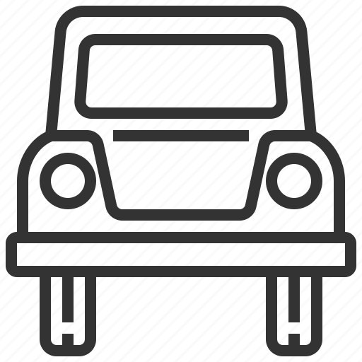 automobile, car, delivery, paneltruck, traffic, transportation, vehicle icon