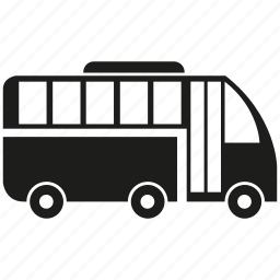 bus, car, transport, vehicle icon