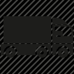 car, cargo, logistics, transport, transporter, truck, vehicle icon