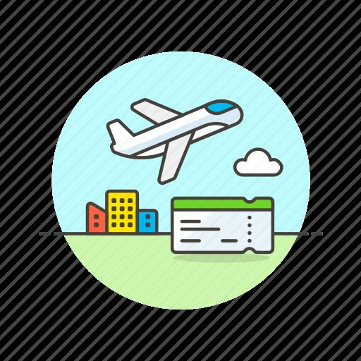 air, boarding, fly, pass, plane, ticket, transit, transportation icon