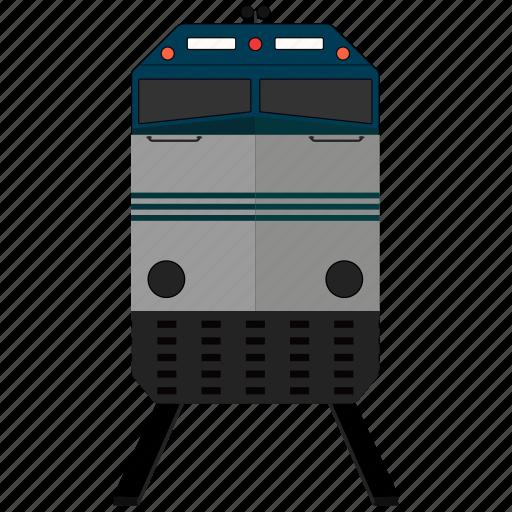 railroad, railway, train, transportation icon