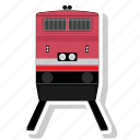 railroad, railway, train, transportation icon