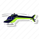 chopper, flight, fly, helicopter, vehicles icon