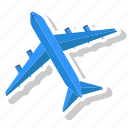aircraft, airport, flight, plain