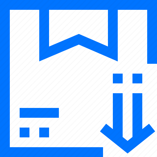 box, download, export, logistic, product, transportation icon