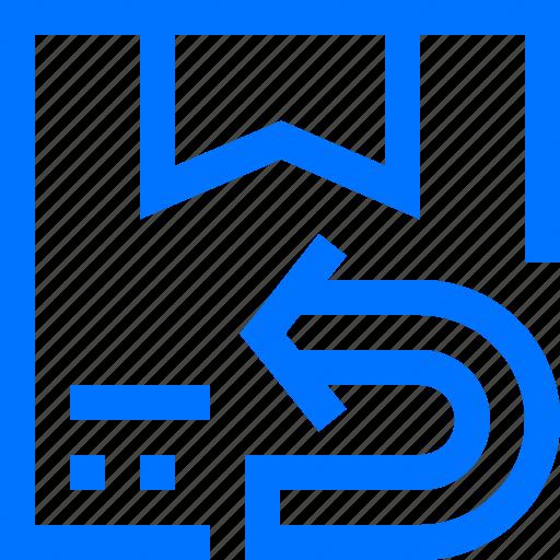 box, logistic, product, repack, return, transportation icon