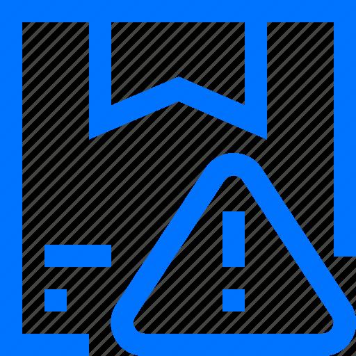 alert, beware, box, logistic, transportation, warning icon