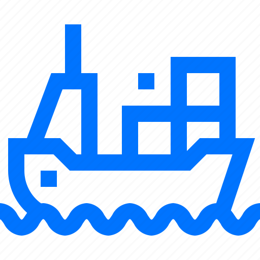 Cargo, logistic, sea, shipping, transportation icon - Download on Iconfinder