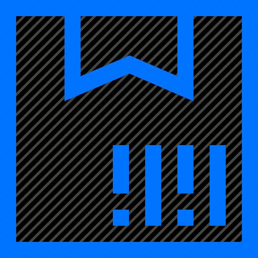 bar, box, code, logistic, parcel, product, transportation icon