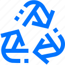 logistic, recycle, refresh, reload, reset, rotate, transportation icon