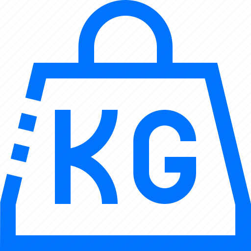 kilograms, logistic, scale, transportation, weight icon