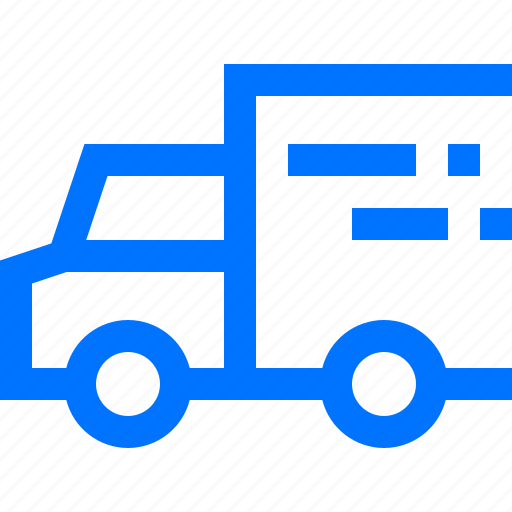 fast, logistic, send, speed, transportation, truck, vehicle icon