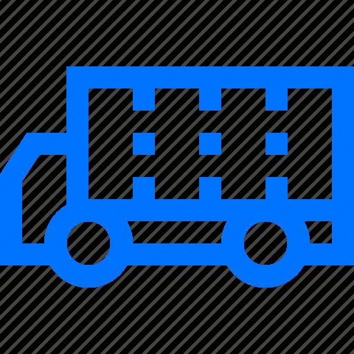 logistic, transportation, truck, vehicle icon