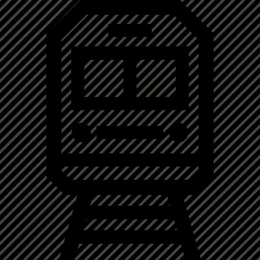 Rail, railroad, track, train icon - Download on Iconfinder