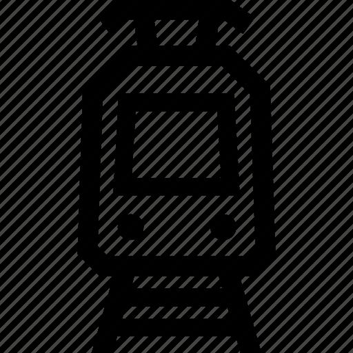 Tram, tram car, tramcar, tramway icon - Download on Iconfinder
