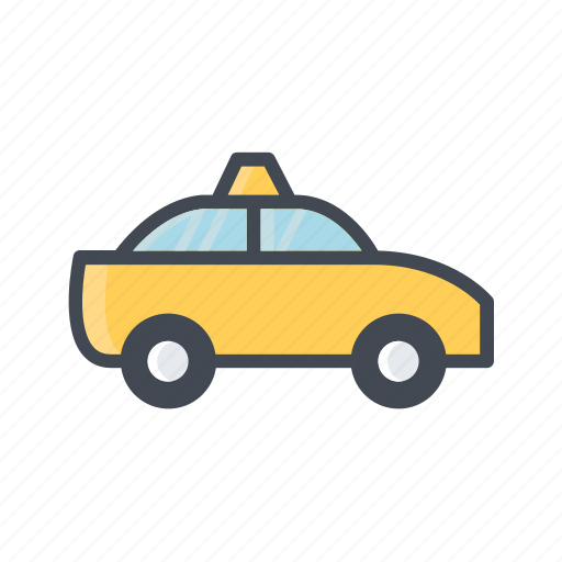 taxi, transportation, vehicle icon