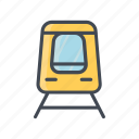 locomotif, train, transportation, vehicle icon