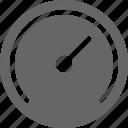 empty, fuel, full, gauge, speed, speedometer, transportation icon