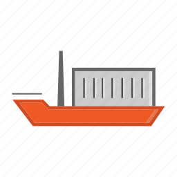 boat, business, cargo, delivery, shipping, shopping, transport icon
