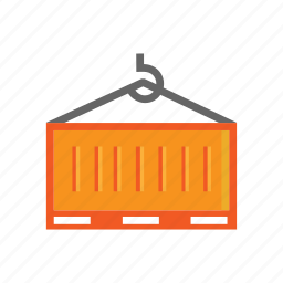 cargo, con, container, delivery, logistics, transport icon
