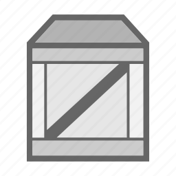 box, cargo, delivery, package, product, transport, transportation icon