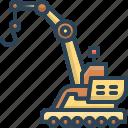 construction, crane, machine, transportation, vehicle