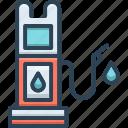 diesel, fuel, gasoline, petrol, pump, refueling icon