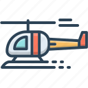 aircraft, blade, chopper, fly, helicopter, jet, transport icon