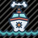 cruise, marine, maritime, sea, ship, transport, travel
