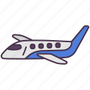 airplane, fly, plane, transport, vehicle icon
