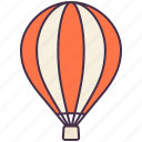 balloon, float, fly, transport, travel, vehicle icon