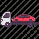 car, lorry, trailer, transport, truck, vehicle