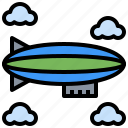 airship, automobile, transport, transportation, travel, vehicle icon