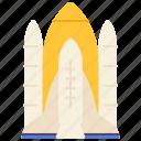 launch, rocket, sky, spaceship, transport, vehicle