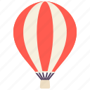 balloon, float, fly, transport, vehicle icon
