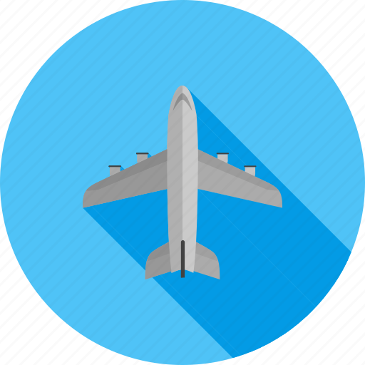 aeroplane, aircraft, aviation, flight, plane, travel icon