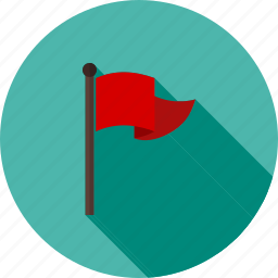 flag, golf, pole, race, sign, sports, victory icon