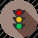 light, road, sign, signal, stop, traffic, transportation
