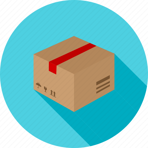 box, carton, gift, mail, packaging, parcel, shipping icon