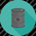 barrel, can, drop, fuel, gasoline, oil, tank