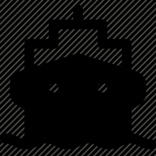 boat, sea, ship, transportation icon