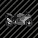 motorcyclist, biker, bike, motorcycle, motor, vehicle, rider icon