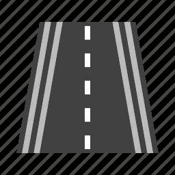 highway, lane, road, speedway, traffic, travel, way icon