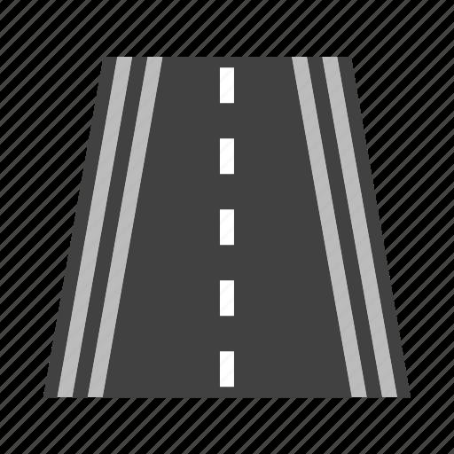 Highway, lane, road, speedway, traffic, travel, way icon - Download on Iconfinder