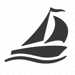 raw, sail boat, sailboat, sailing, simple, traffic, transport, transportation, travel icon