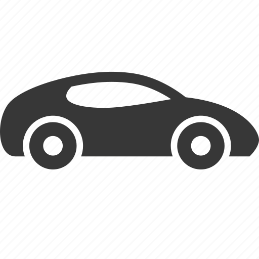 raw, simple, speed, sports car, traffic, transport, transportation, travel icon