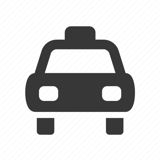 cab, raw, simple, taxi, traffic, transport, transportation, travel icon